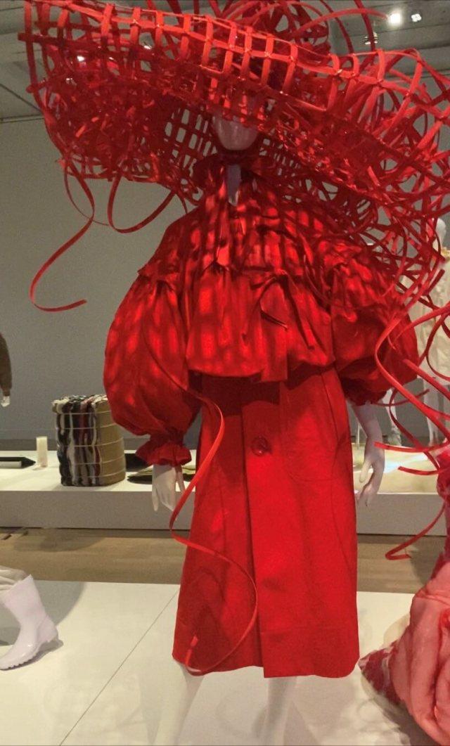 涼感ブラックコーデで、行きたかったファッション イン ジャパン展覧会へ_1_8
