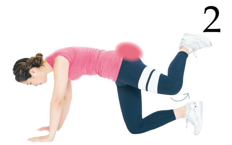 お尻の筋肉を目覚めさせるトレーニング<DAY2>【キレイになる活】_1_7