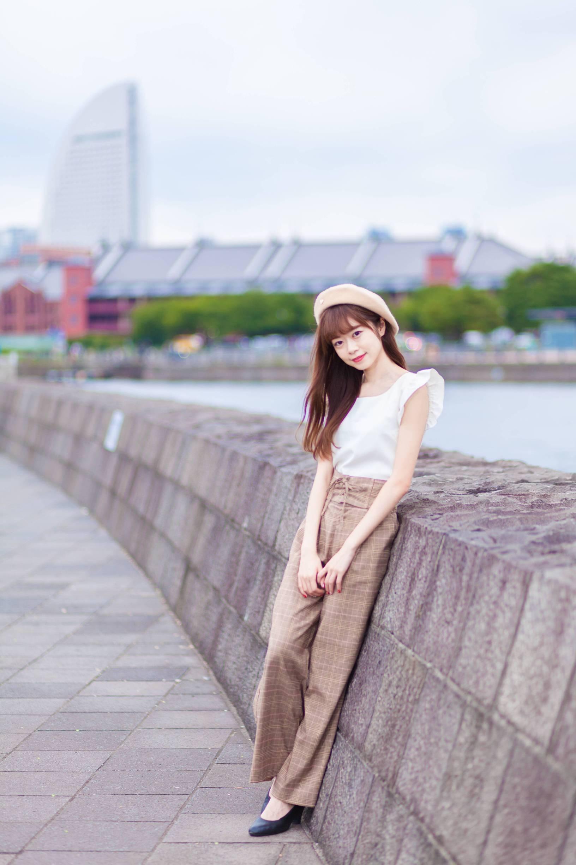 "Vol.26♡ 【non-no11月号掲載】《脚長》に見える""グレンチェック柄パンツ""_1_3"