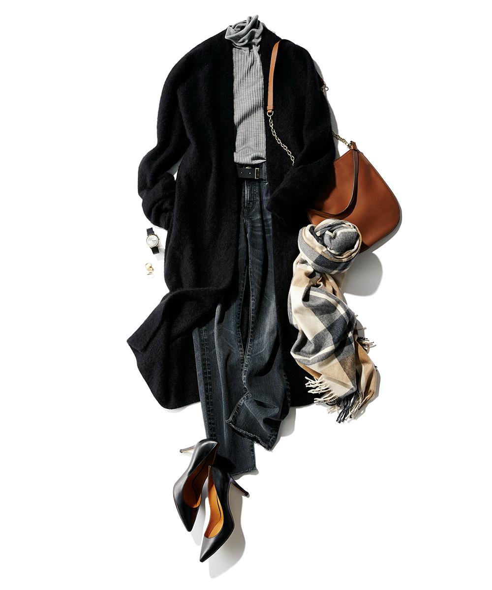 """スタイリスト吉村友希さんが提案「茶色のバッグ」でコーデに""""華足し""""!_1_3"""