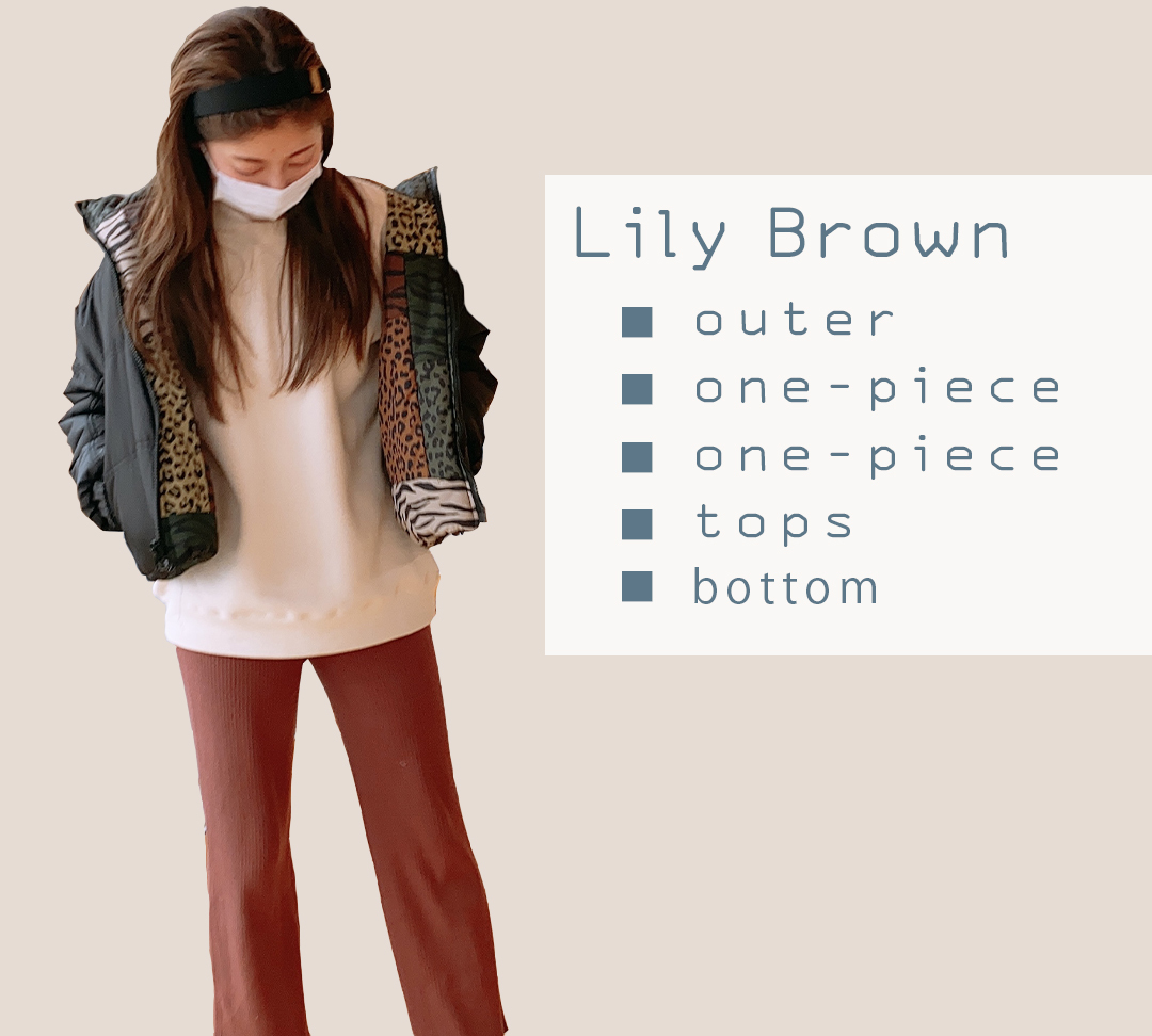 Lily Brown(リリーブラウン)2021年の福袋
