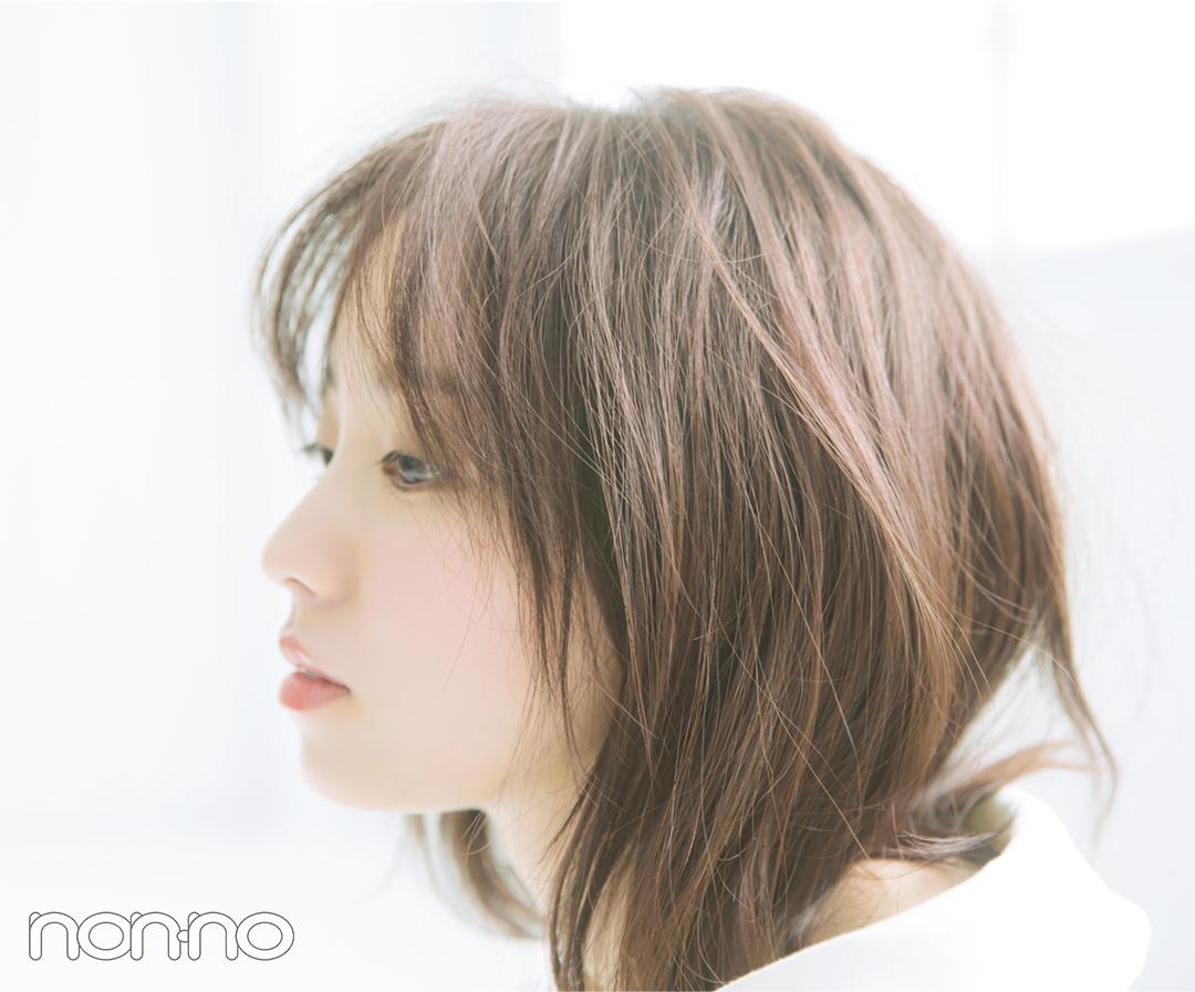 今泉佑唯さんの「のばしかけ前髪」アレンジ♡ スタイリングだけで大人っぽく! _1_4