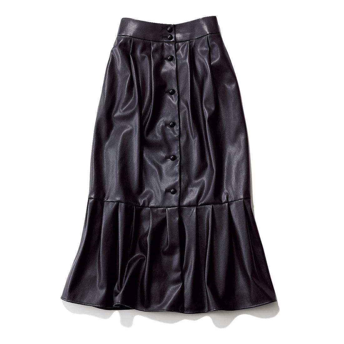 エリンのフェイクレザースカート