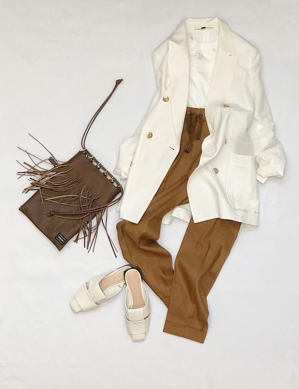 Brownを着こなしのスパイスに。_1_1