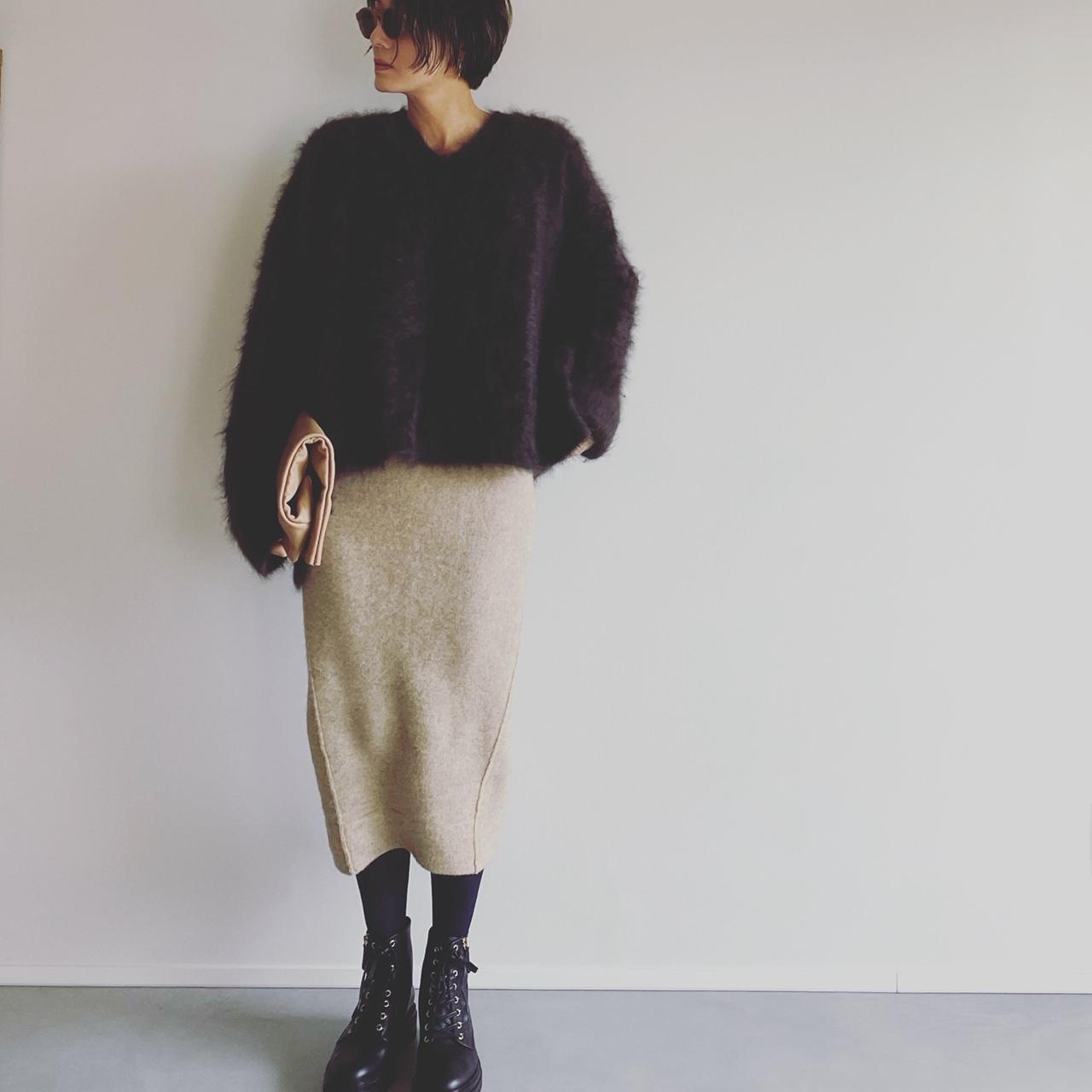 冬の着こなしを今っぽく仕上げてくれる私的ナンバー1ブーツを履き回してみました【エディター坪田あさみのおしゃれと暮らしと時々名品 #23】_1_5