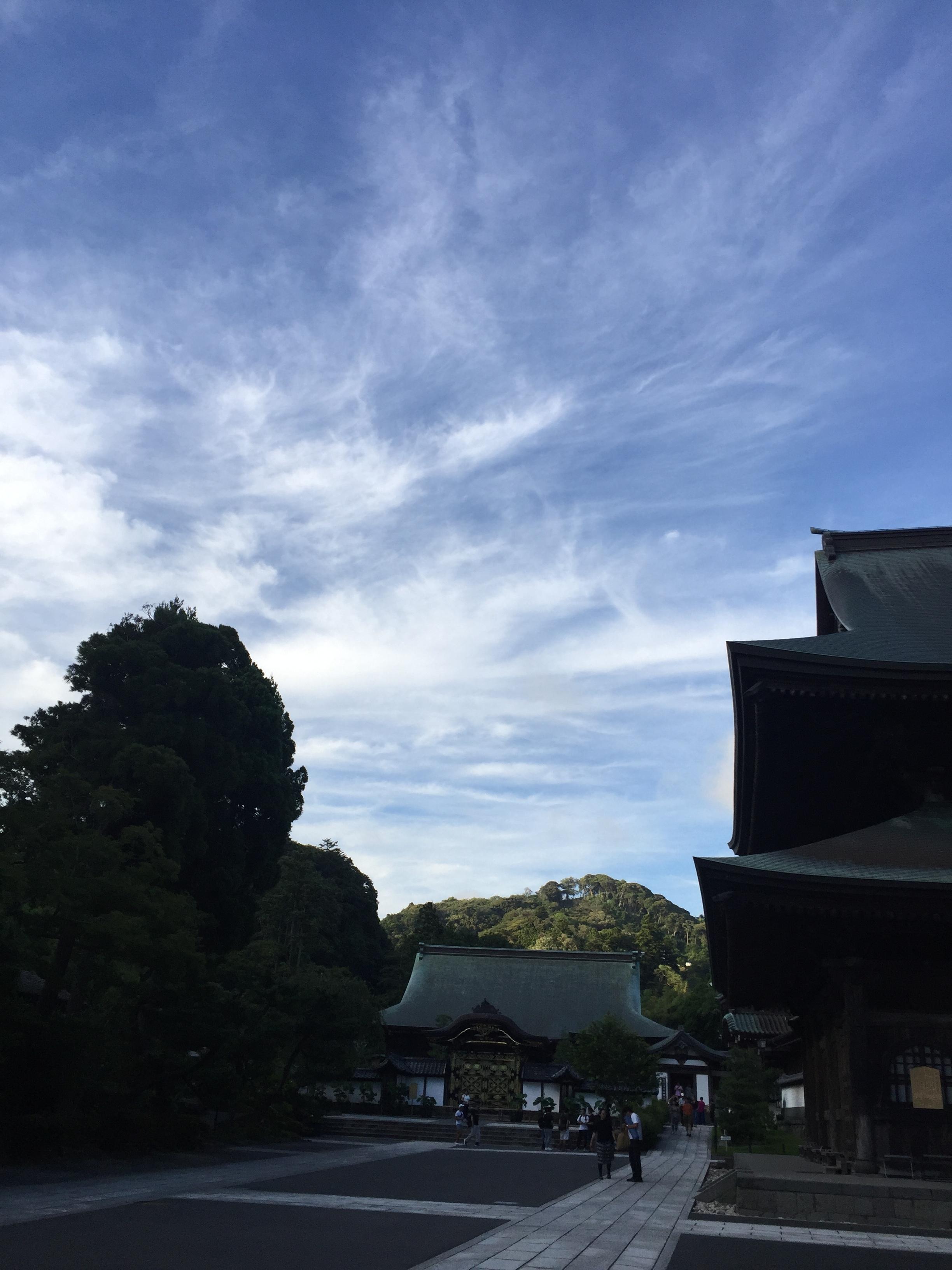 お寺での座禅とヨガ_1_3