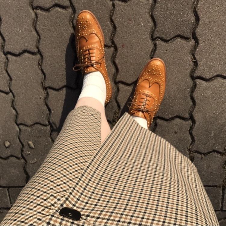 秋のトレンド「チェック柄」を美女組さんはどう着る?【マリソル美女組ブログPICK UP】_1_1-1