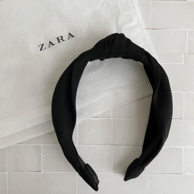 【ZARA】カチューシャと切りっぱなしボブ_1_3