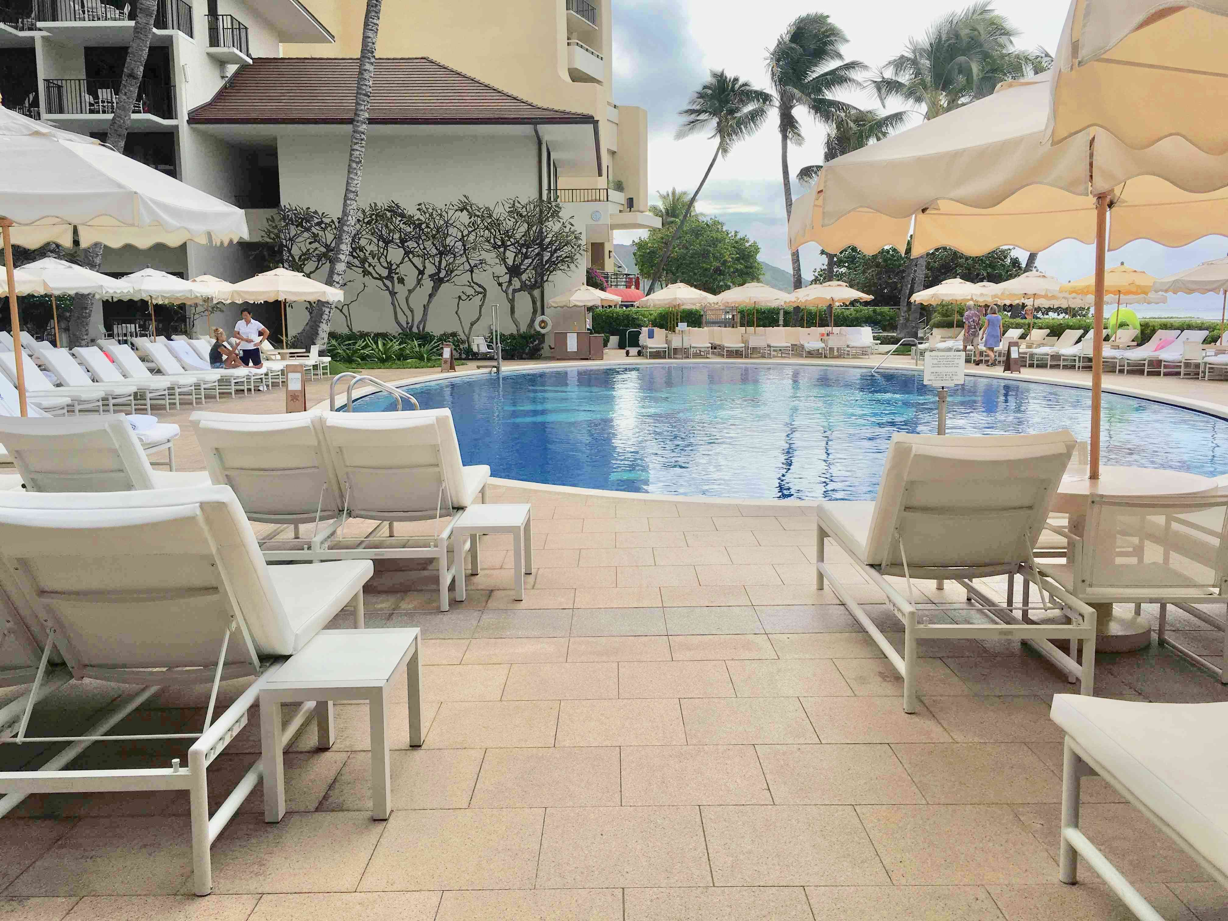 ハワイ 五つ星ホテル ハレクラニで朝食_1_4