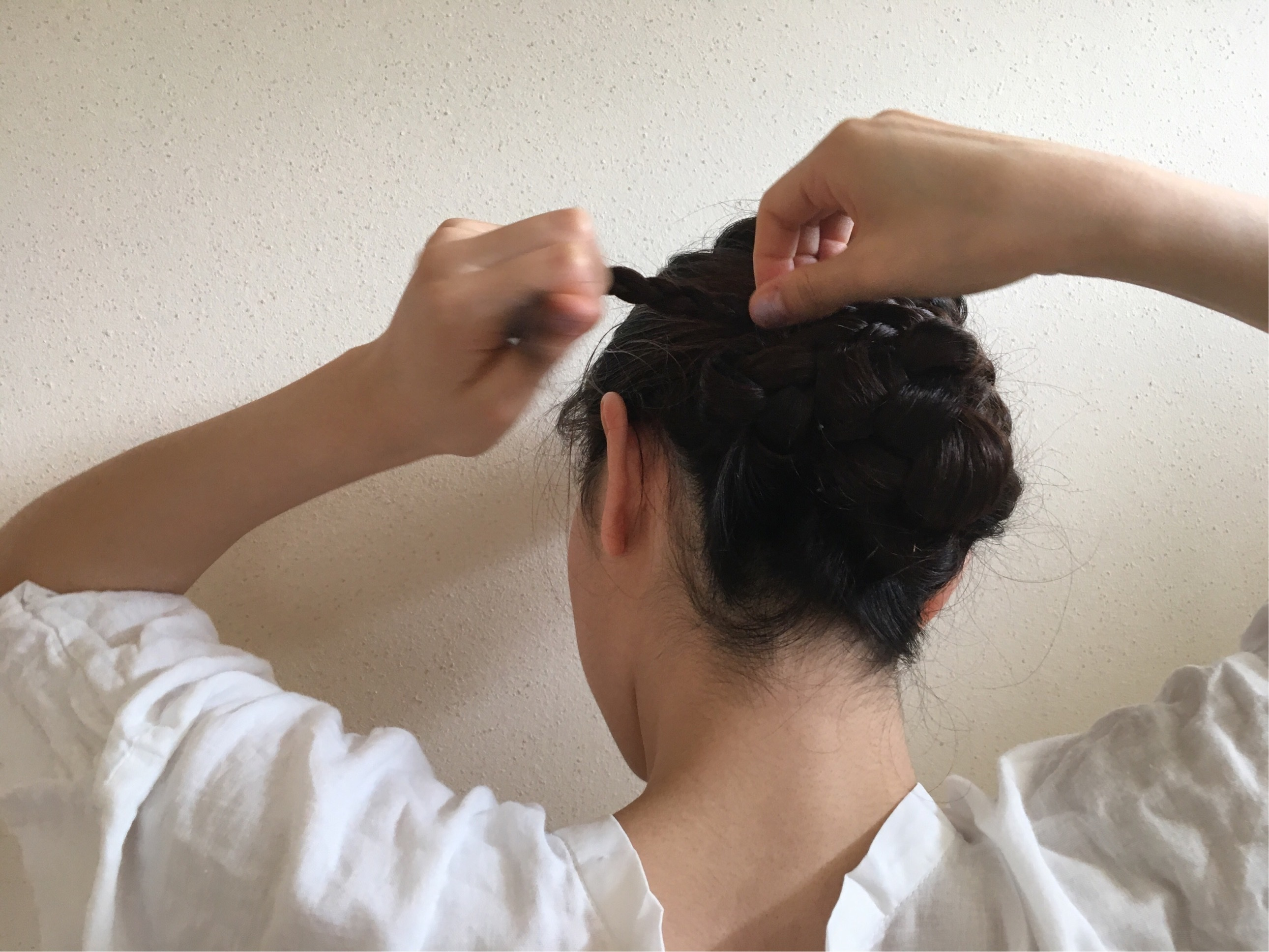 不器用さんでも「1番映える浴衣髪アレンジ」【ロング/編み込みなし】_1_5-1