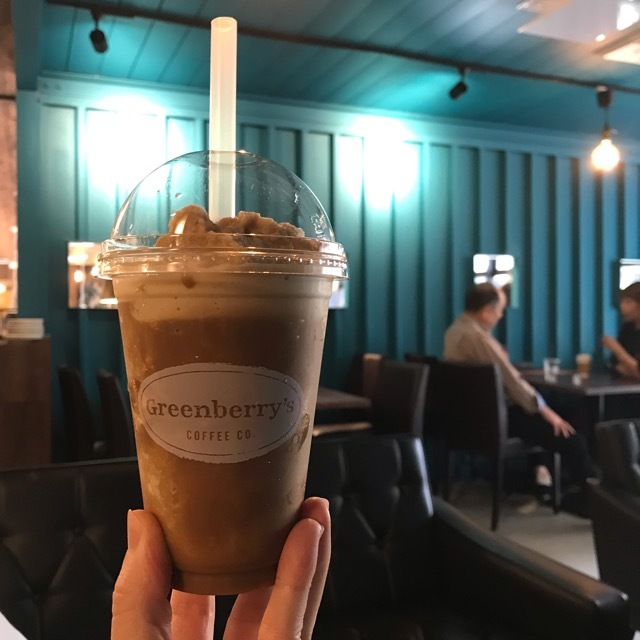 Greenberry's COFFEE Roastery CO. のフローズンコーヒー