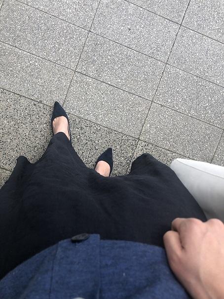 アラフォーのスタイルUPに欠かせない!やっぱり落ち着くマキシ丈スカート_1_6