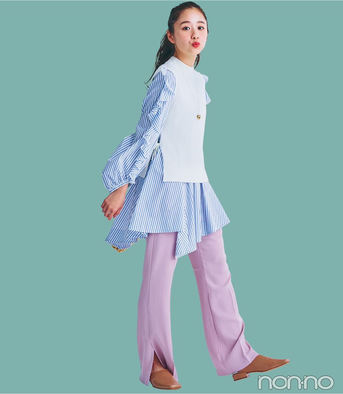 【2021年ファッショントレンド vol.6】鮮度が格段にUPするカラーパンツ_1_5