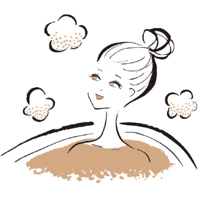 半身浴ではなくお風呂は肩までつかる
