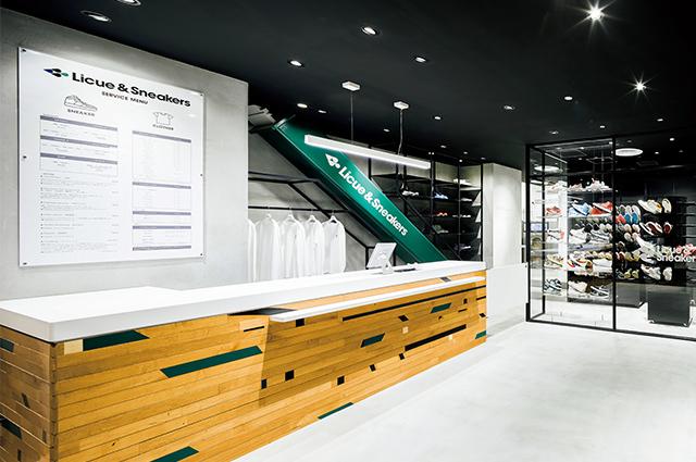 日本初のスニーカーウォッシュの専門店『リクエ&スニーカーズ』