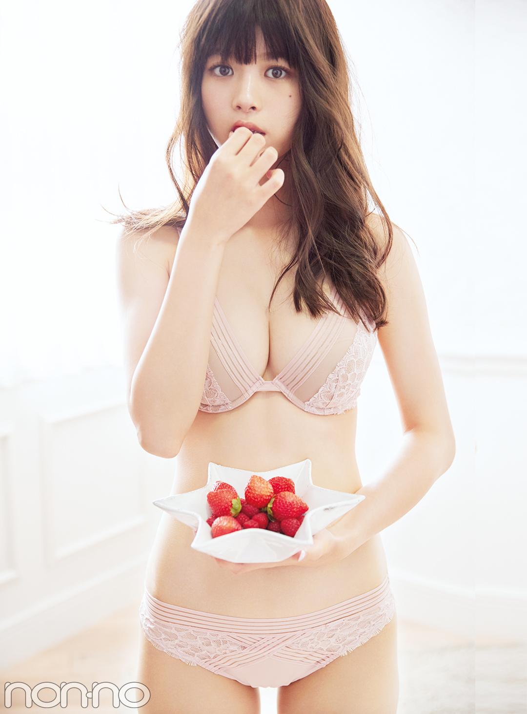 馬場ふみかのランジェリースタイル♡ ピンクやフリルに合わせたい香りって?_1_1