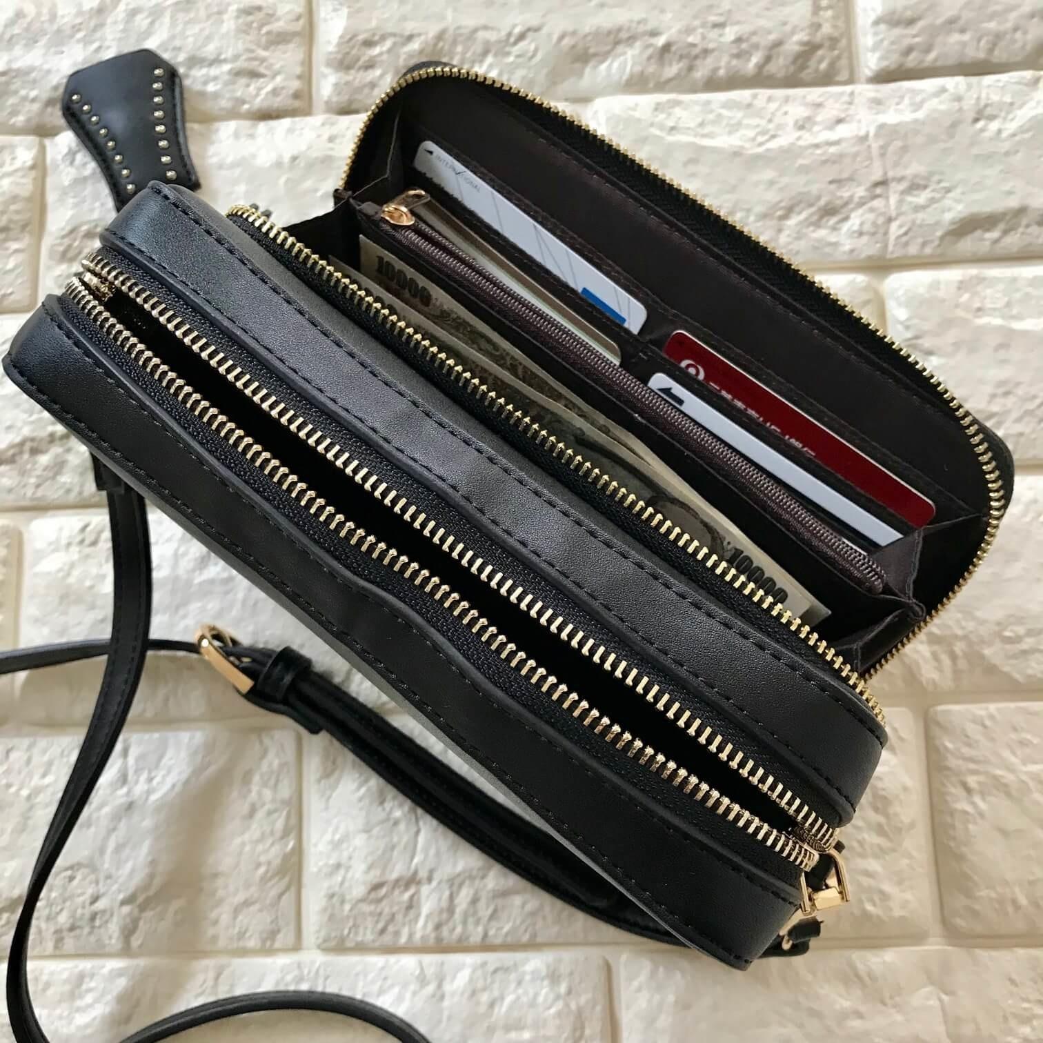 お財布インバッグ使用例画像