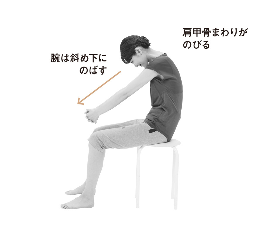 体の悩める症状を緩和させる不調改善ストレッチ五選_3_2