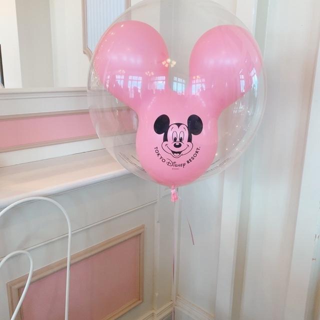 【 TokyoDisneyland 】風船が 、可愛いすぎる!_1_2