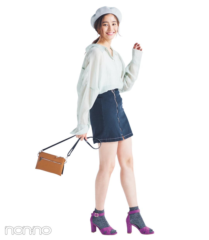 サンダル2019★ ヒールストラップ+靴下のミックスコーデで差をつける!_1_5