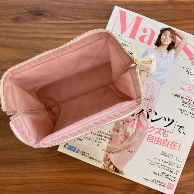 Marisol5月号付録「MARIHAのフェミニンポーチ」 4/7発売_1_2