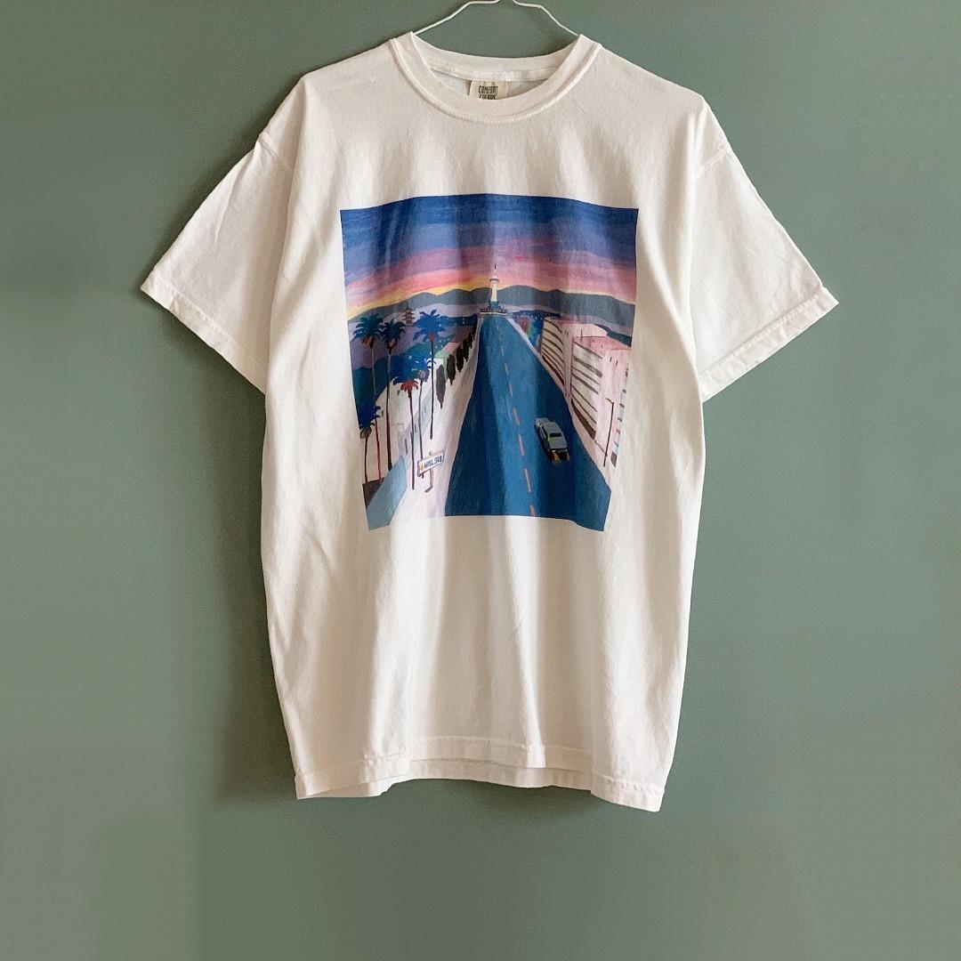 """ホテル、レコード店、カフェ……夏の主役Tシャツは""""ショップオリジナル""""で探す_1_3"""