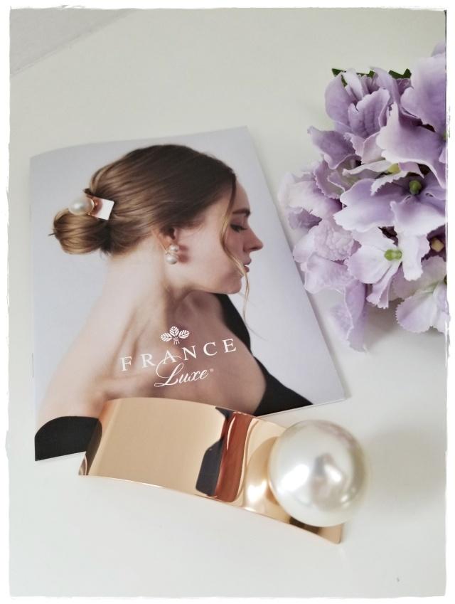 一粒パールが魅力的♡大人のヘア小物はフランスラックスで♡_1_1