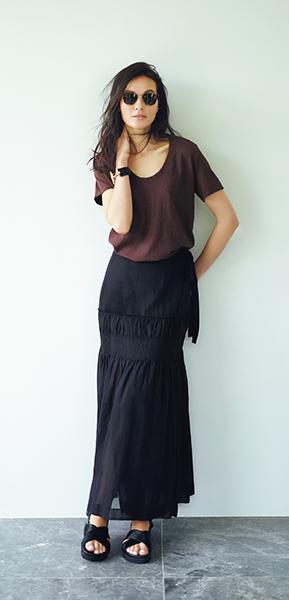 """デザインと素材に自信あり! 大人女性をきれいに見せる""""今年の指名買いTシャツ""""_1_1"""