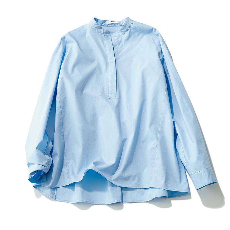 この春はシャツが着たい。「スタンドカラー」は襟の形に変化あり!_1_2-2