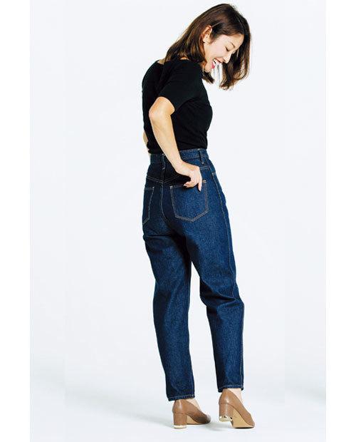 カービーな体型でも履けるデニムを探して!噂のデニムを履き比べてみました_1_4-2