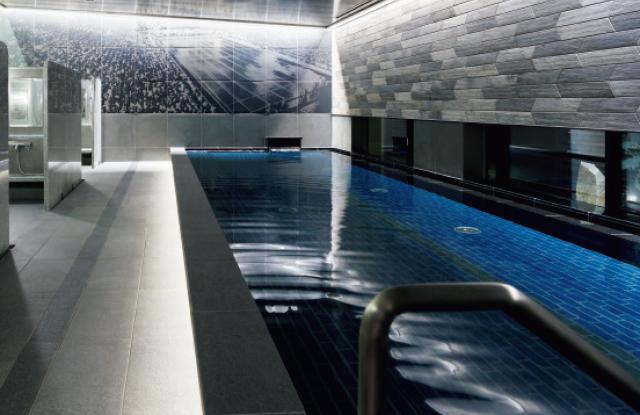 アートワークの大浴場
