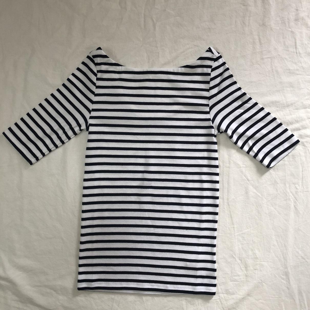 Gapでみつけたシンプルだけど、女っぷりUPなTシャツ_1_2-1