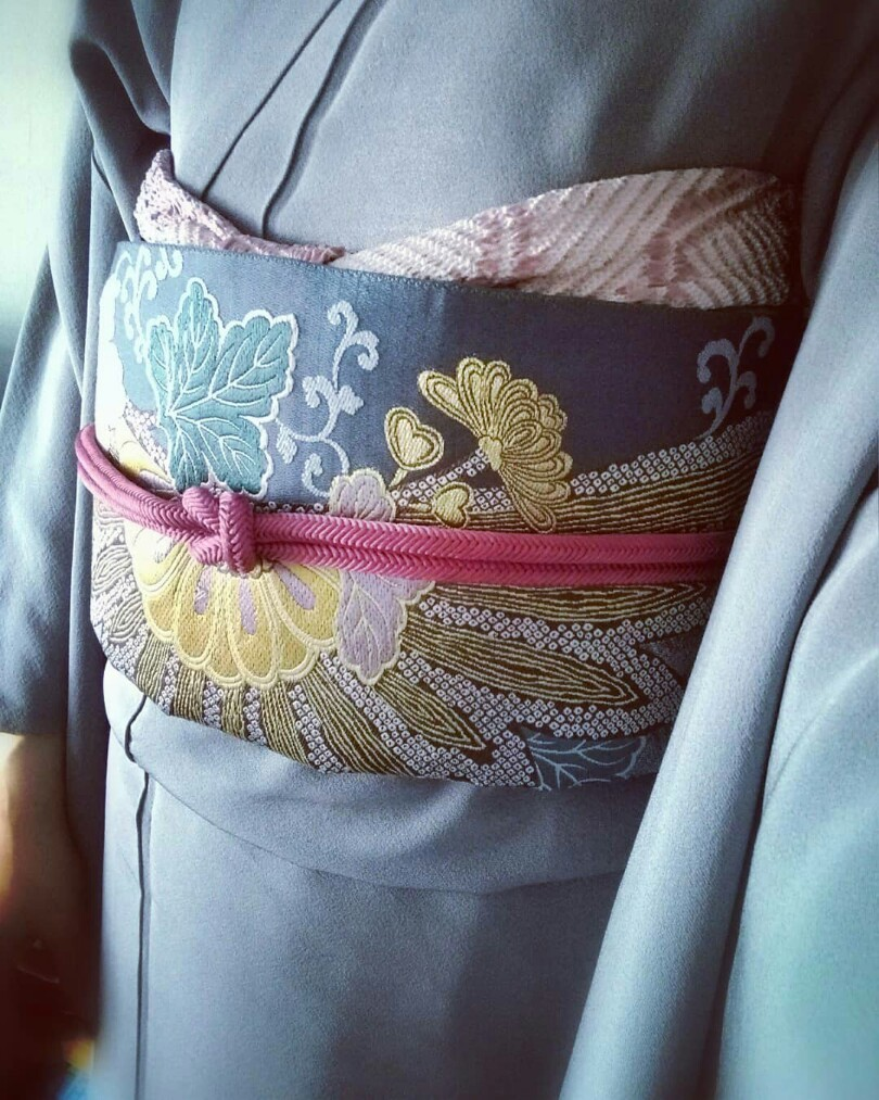 春うらら♪ 和服で入学式_1_2