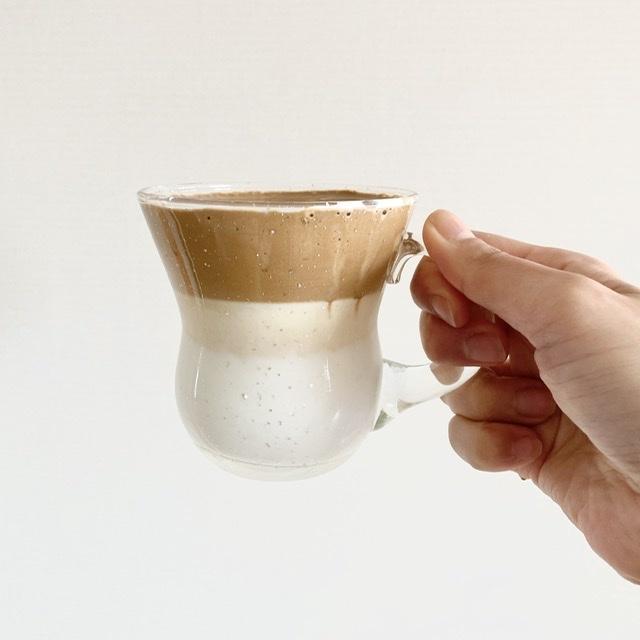 材料少なく簡単!噂のタルゴナコーヒーを作ってみました_1_2