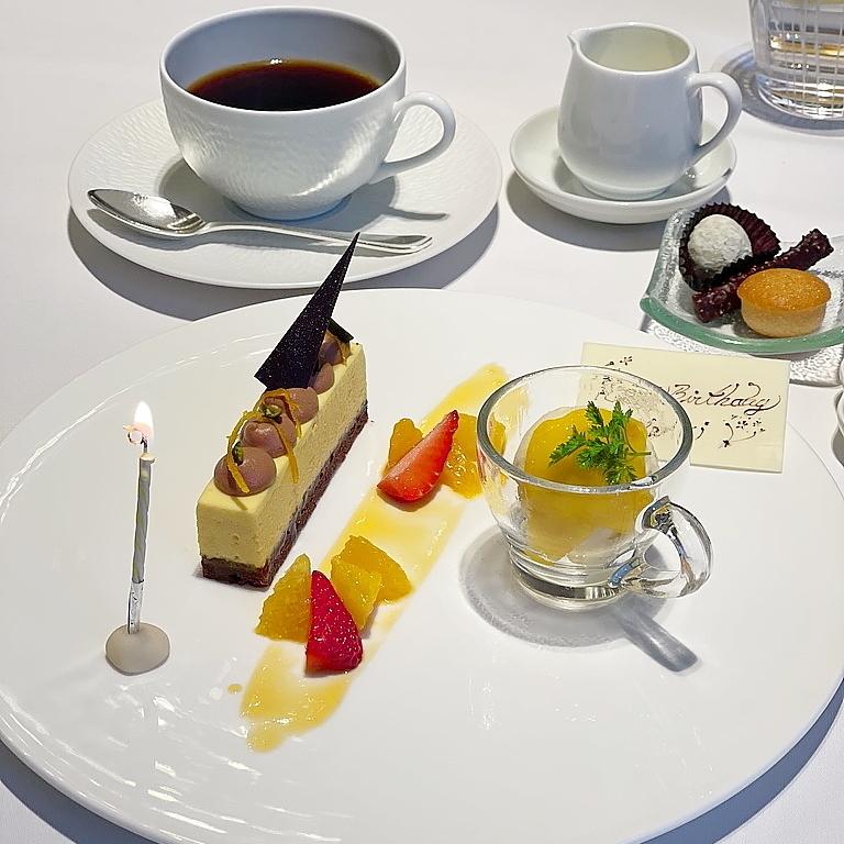 Blanc Rouge ブランルージュ 東京ステーションホテル デザート お誕生日