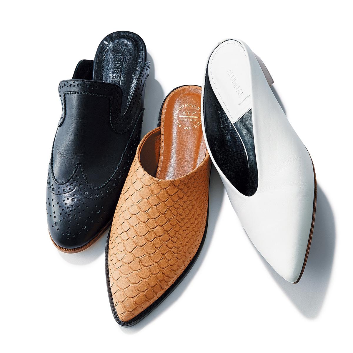 新しい靴、履きたくない? 春のシューズ、3スタイル_1_1-3