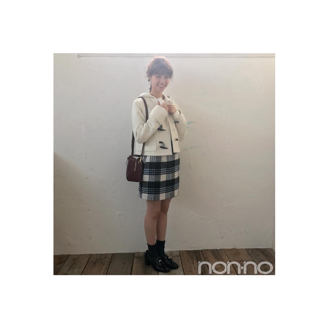 西野七瀬はショートダッフルで男女両モテ♡コーデ【毎日コーデ】_1_1