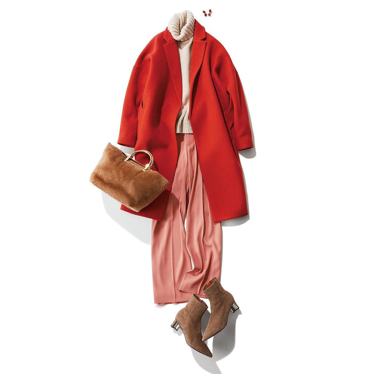 華やかコートと小物3