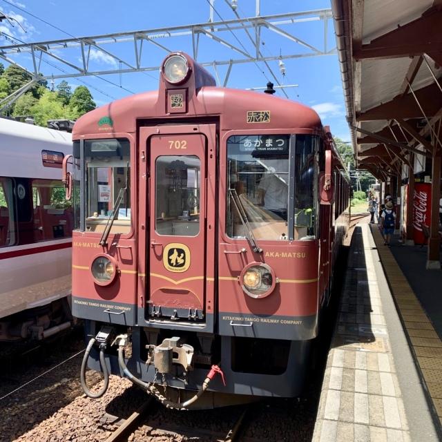 丹後あかまつ号 天橋立 舞鶴 京都