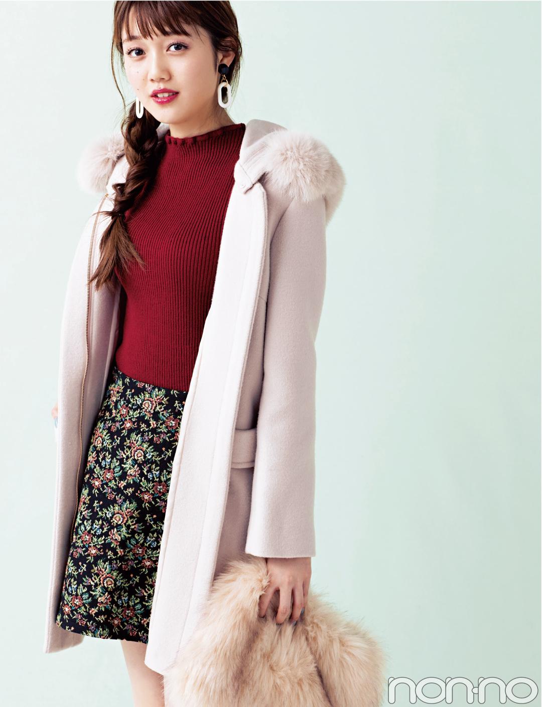 絶妙ピンクにキュン♡REDYAZELのファーコートが主役級の可愛さ!_1_1