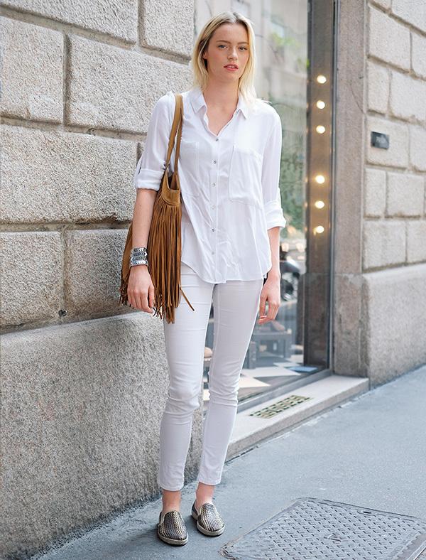 全身「白」をカジュアルスタイルに取り入れる【ファッションSNAP ミラノ・パリ編】_1_1-4