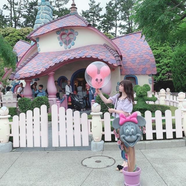 【 TokyoDisneyland 】風船が 、可愛いすぎる!_1_3