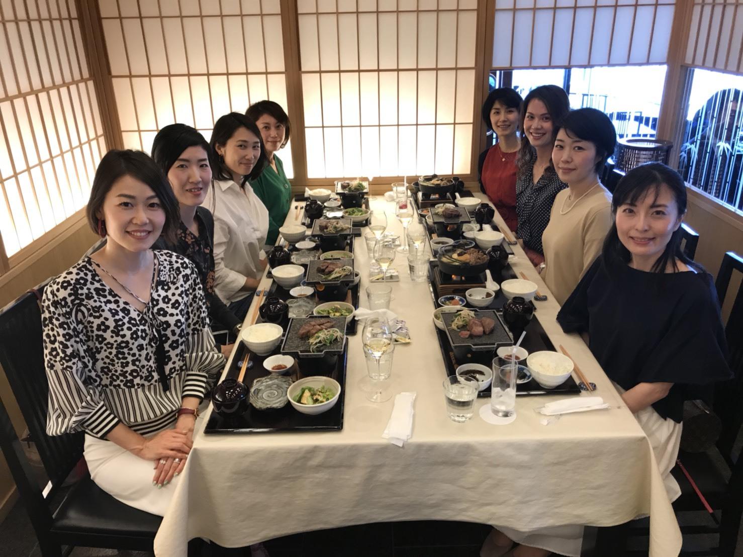 美女組同期で東京ランチ★_1_2-1