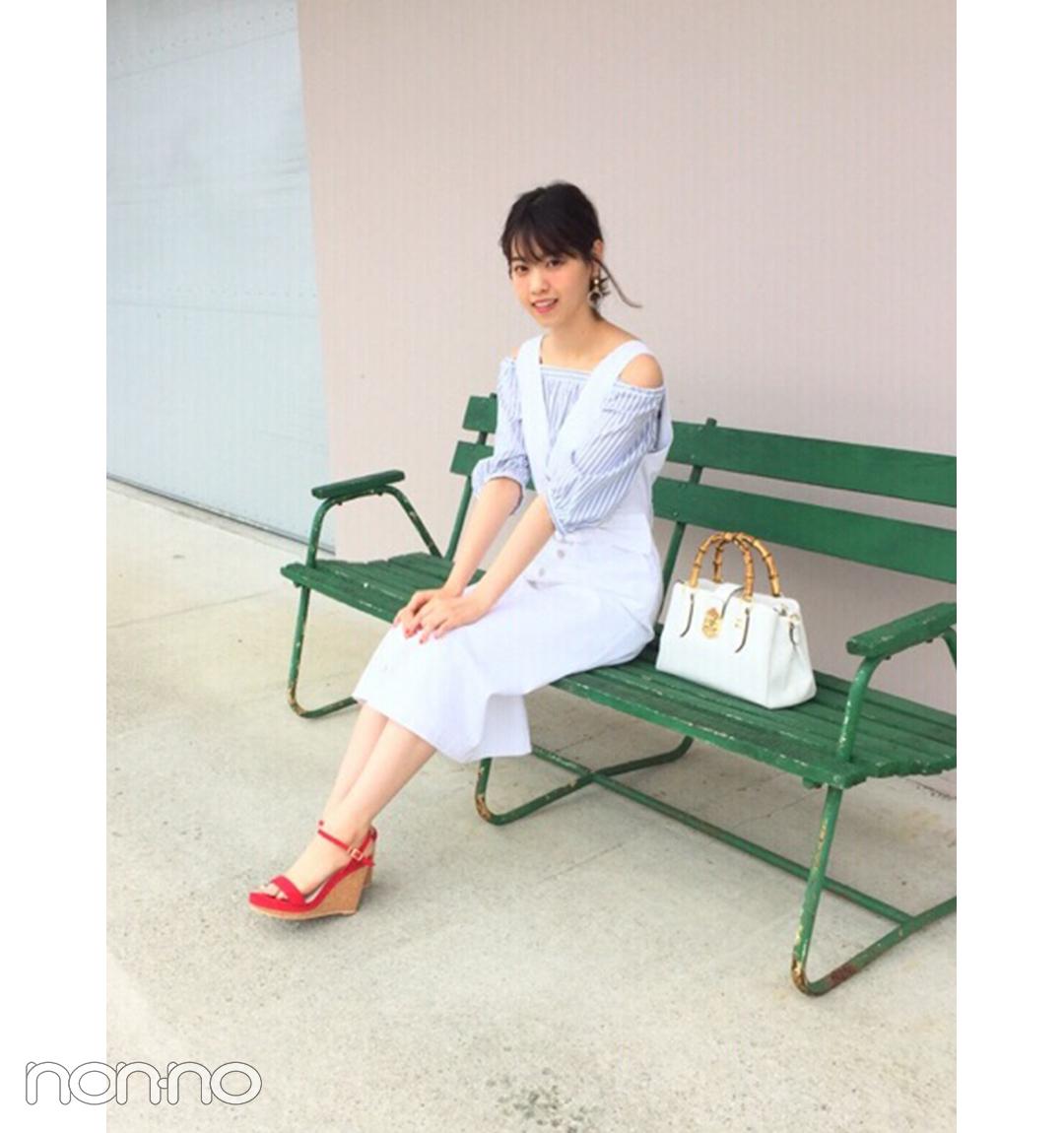 西野七瀬は白ジャンスカで清楚可愛い♡夏コーデに【毎日コーデ】_1_1