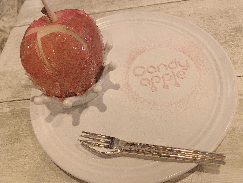 レストランで食べるりんご飴?!?! _1_2