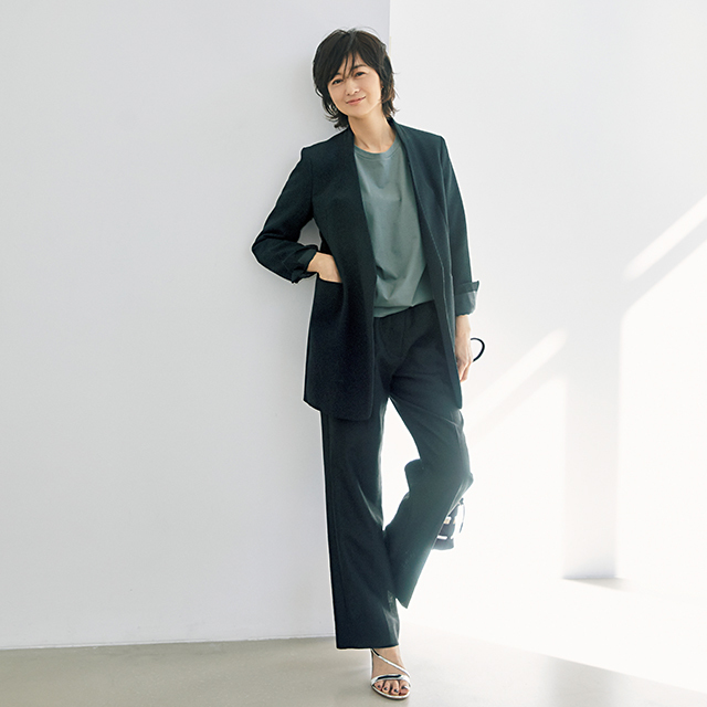 BACCAのジャケット 富岡佳子