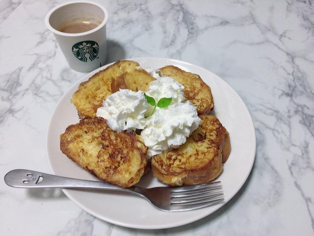 手作りフレンチトースト♡_1_1