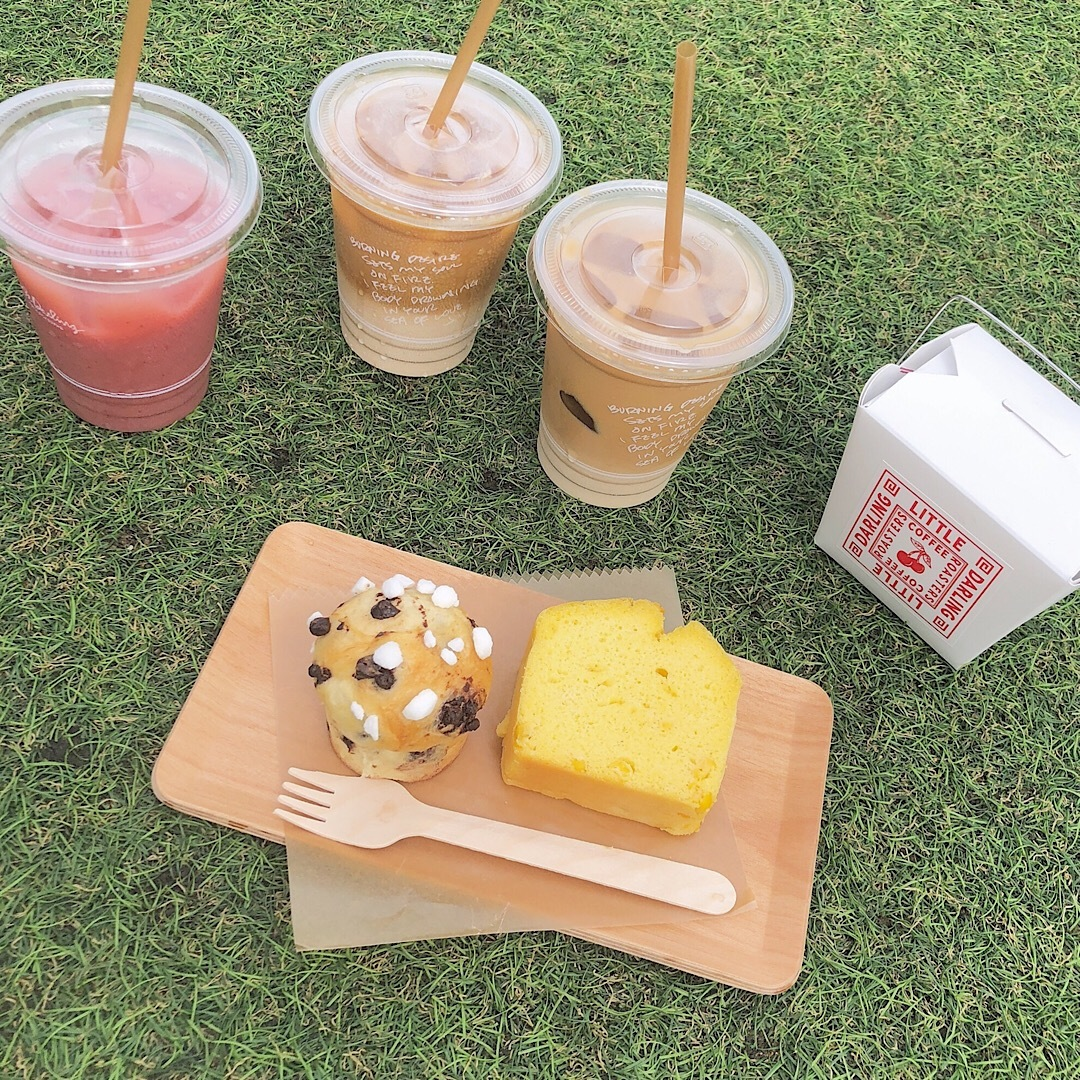 【カフェ巡り】ピクニック気分が味わえちゃう映えカフェ♥_1_3-2