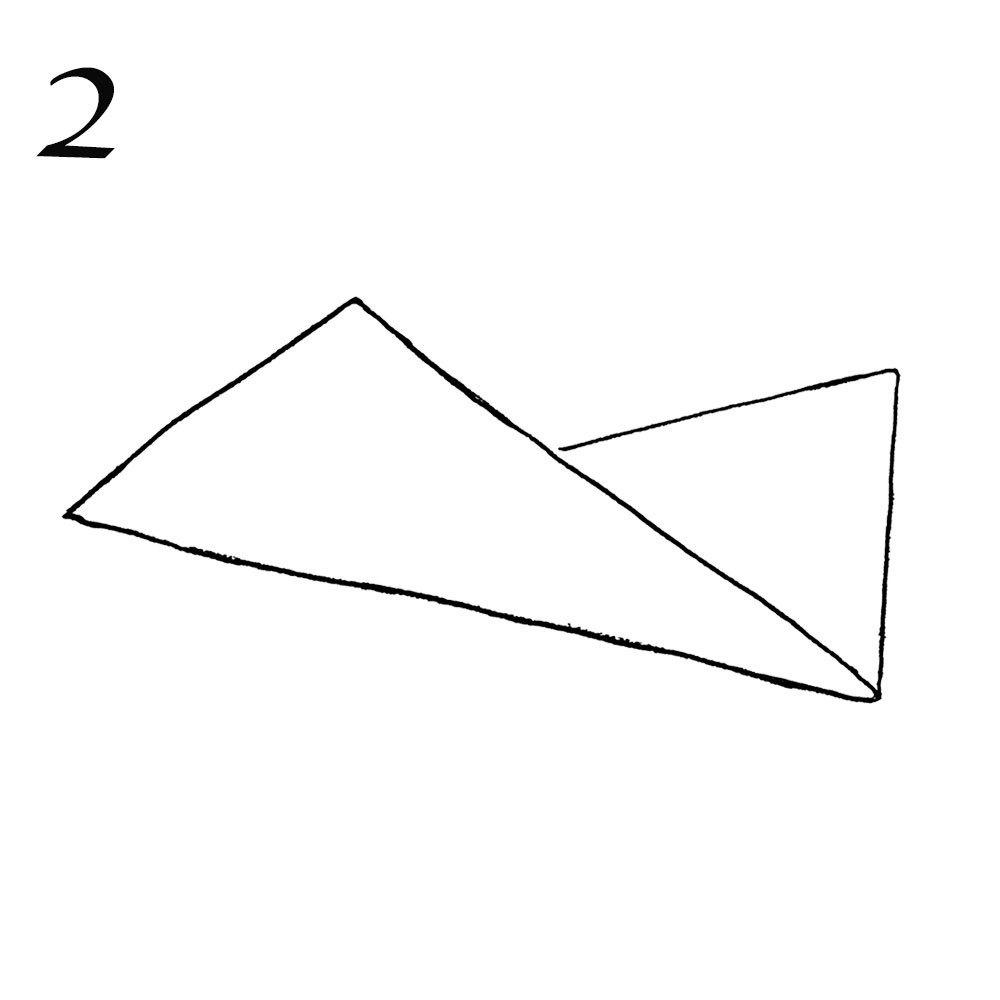 ストールの簡単ひと巻き方法2
