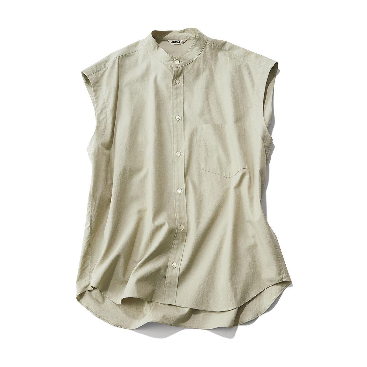 ■オーラリーのゆるっとシャツ